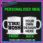 THE BOSS MUG FUNNY GIFT PRESENT BIRTHDAY
